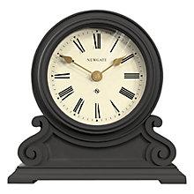 Buy Newgate The Writing Desk Mantel Clock, Grey Online at johnlewis.com