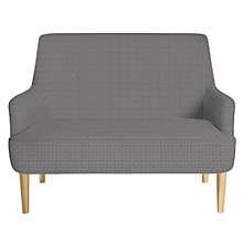 Buy John Lewis Perth Petite 2 Seater Sofa, Light Leg, Arrone Charcoal Online at johnlewis.com