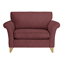 Buy John Lewis Charlotte Snuggler, Light Leg, Arden Burgundy Online at johnlewis.com