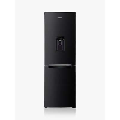Samsung RB29FWRNDBC Fridge Freezer, A+ Energy Rating, 60cm Wide, Black Gloss