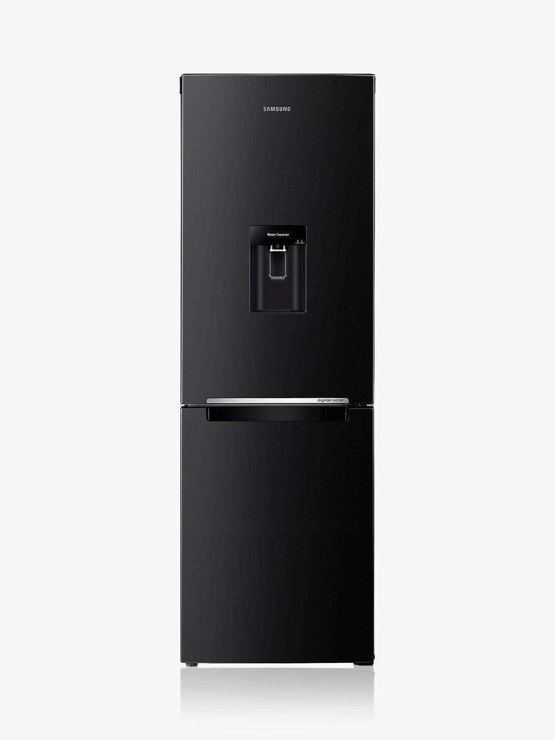 Buy Samsung RB29FWRNDBC Freestanding 70/30 Fridge Freezer, Black Online at johnlewis.com