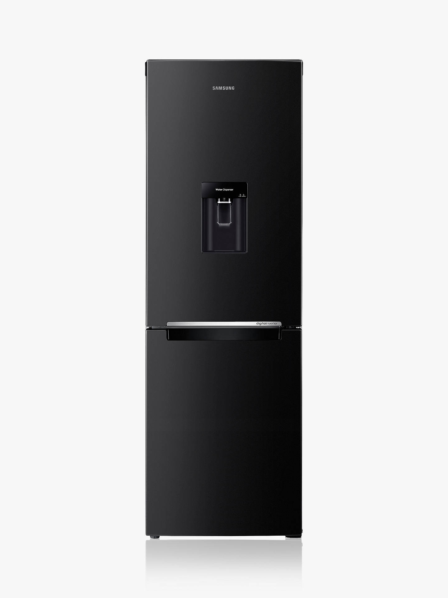 BuySamsung RB29FWRNDBC Fridge Freezer, A+ Energy Rating, 60cm Wide, Black Gloss Online at johnlewis.com