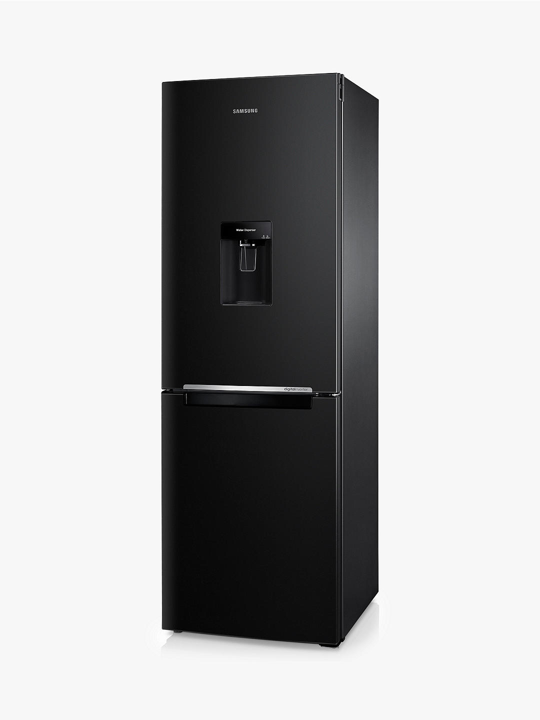 Buy Samsung RB29FWRNDBC Freestanding 70/30  Fridge Freezer, A+ Energy Rating, 60cm Wide, Black Gloss Online at johnlewis.com