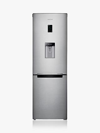 Samsung RB31FDRNDSA Freestanding 70/30 Fridge Freezer, A+ Energy Rating, 60cm Wide, Silver