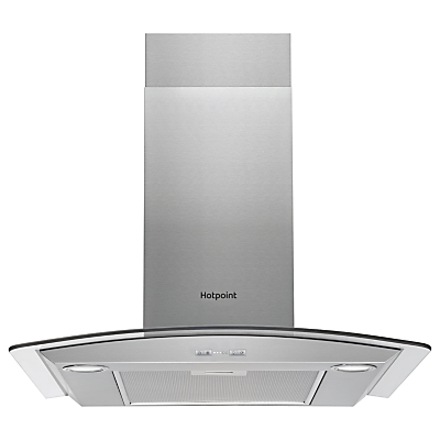 Hotpoint PHGC6.5FABX Chimney Cooker Hood, Stainless Steel