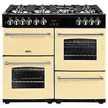 Buy Belling Farmhouse 100DF Dual Fuel Range Cooker Online at johnlewis.com