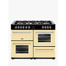 Buy Belling Farmhouse 110DF Dual Fuel Range Cooker Online at johnlewis.com
