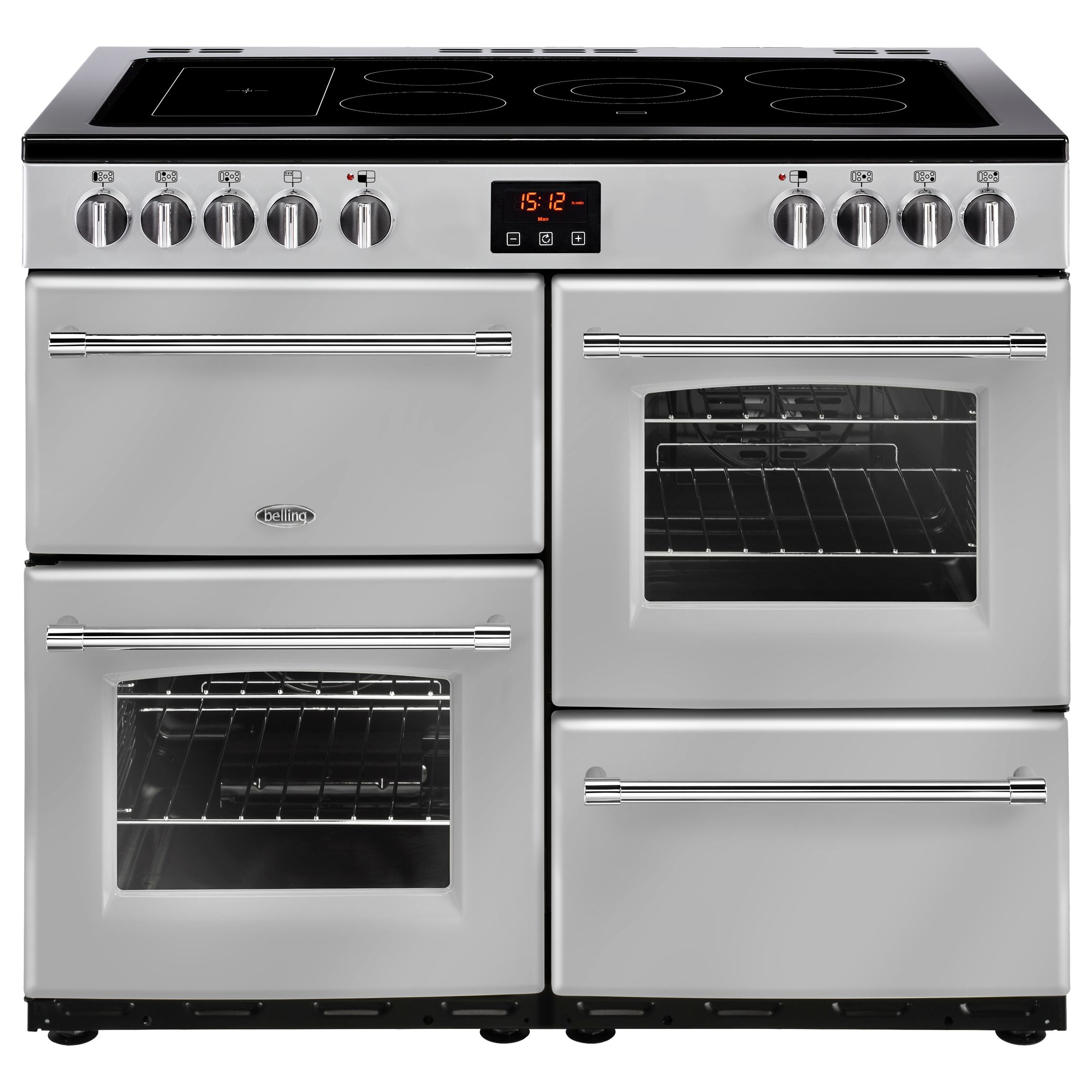 Belling Belling Farmhouse 100E Electric Range Cooker with Ceramic Hob