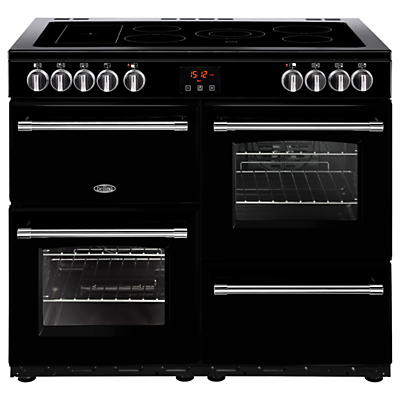 Image of Belling Farmhouse 100E Electric Range Cooker with Ceramic Hob