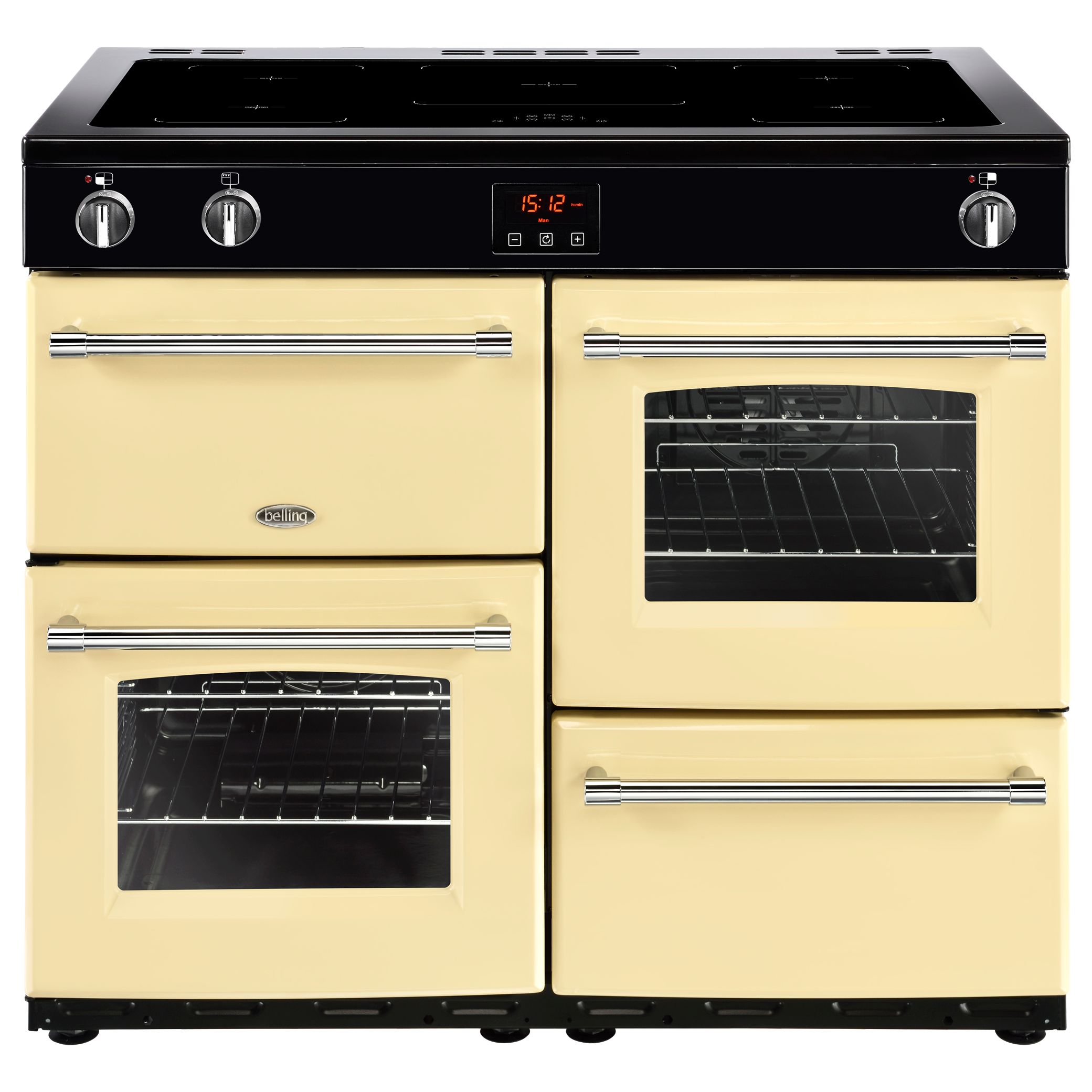 Belling Belling Farmhouse 100EI Electric Induction Range Cooker