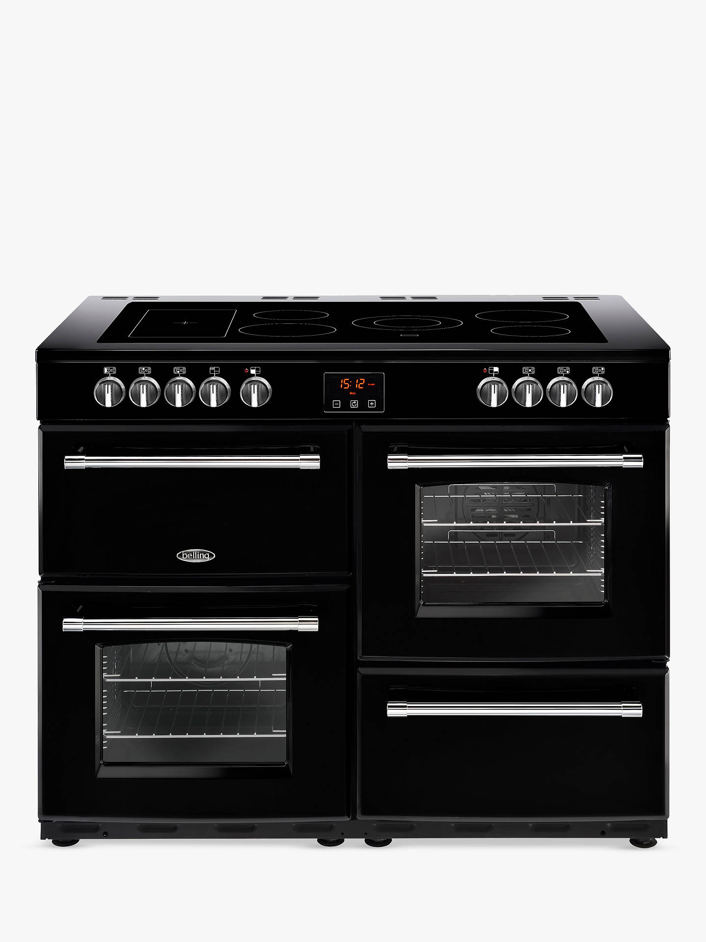 Belling Farmhouse 110e Electric Range Cooker With Ceramic