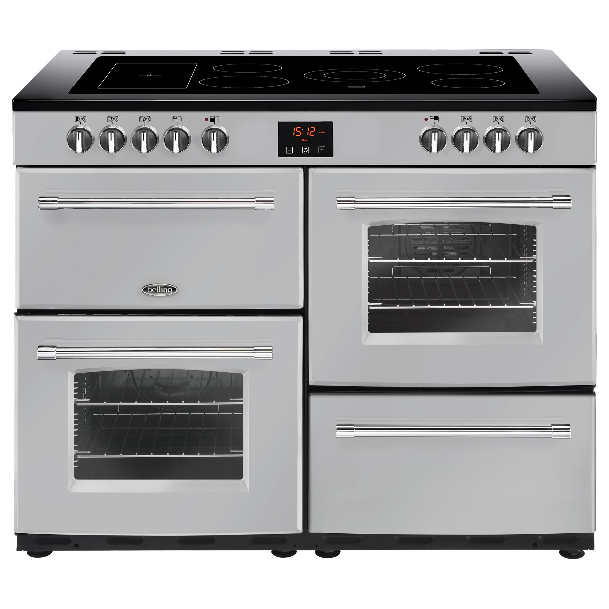 Belling Belling Farmhouse 110E Electric Range Cooker with Ceramic Hob