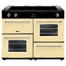 Buy Belling Farmhouse 110EI Electric Induction Range Cooker Online at johnlewis.com