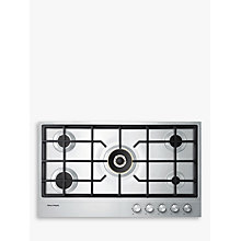 Buy Fisher & Paykel CG905DNGX1 Gas Hob, Stainless Steel Online at johnlewis.com