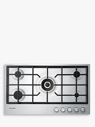 Fisher & Paykel CG905DNGX1 Gas Hob, Stainless Steel