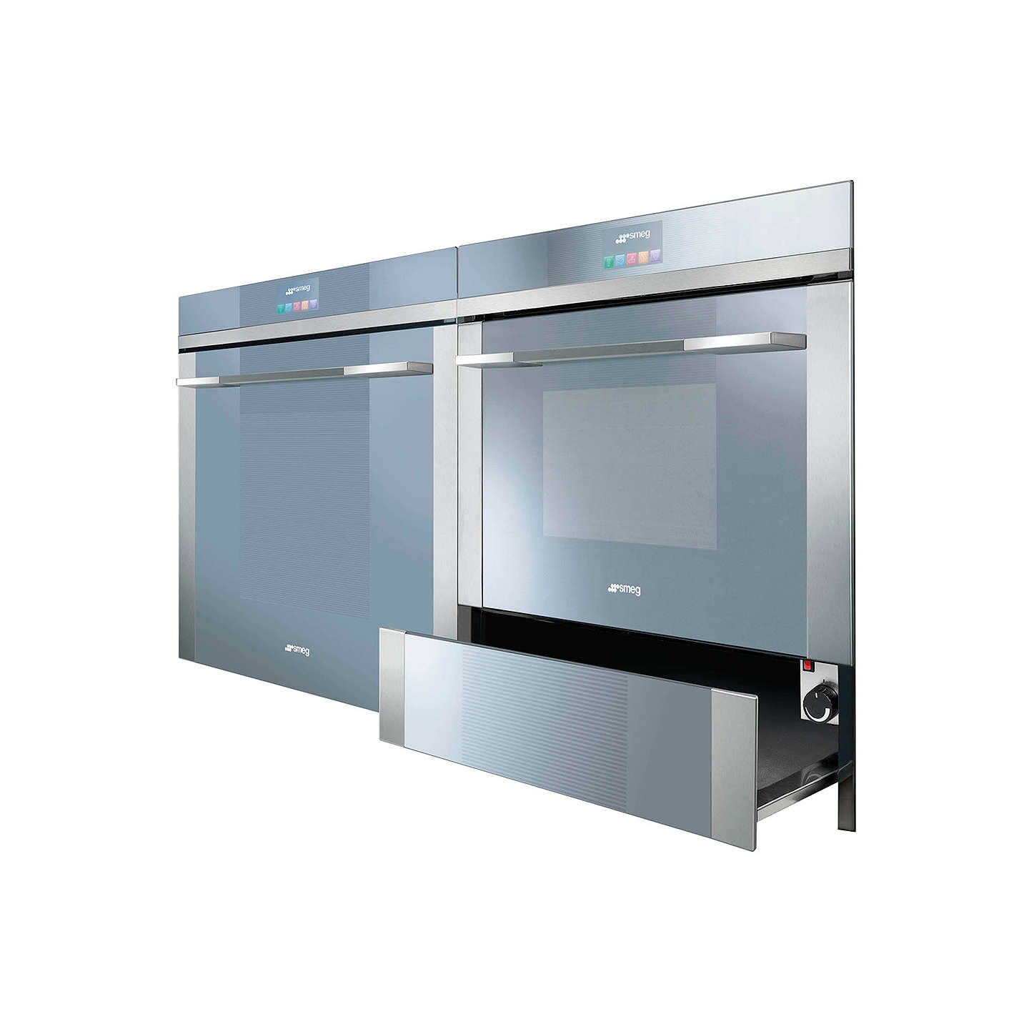 Smeg SF4140MC Linea Aesthetic Combination Microwave Oven with Touch ...