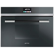 Buy Smeg SF4140VC Linea Aesthetic Combination Steam Oven Online at johnlewis.com
