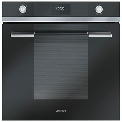 Image of Smeg SF109N Linea Aesthetic Single Oven, Black