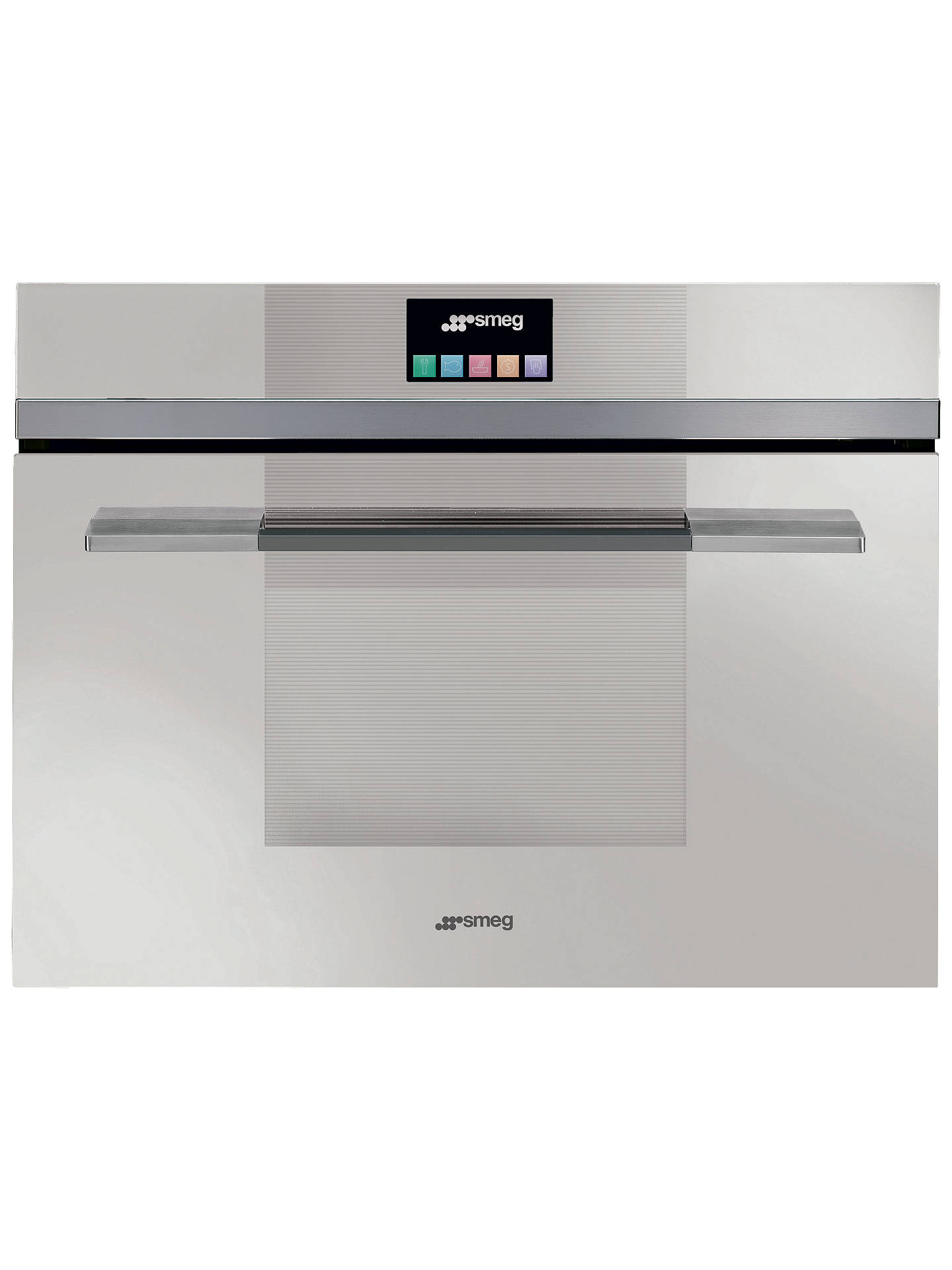 Smeg Sf4140mcb Linea Aesthetic Combination Microwave Oven