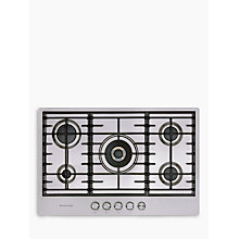 Buy KitchenAid KHSP577510 Gas Hob Online at johnlewis.com
