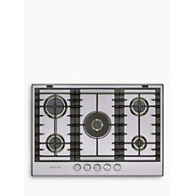 Buy KitchenAid KHMP577510 Gas Hob Online at johnlewis.com