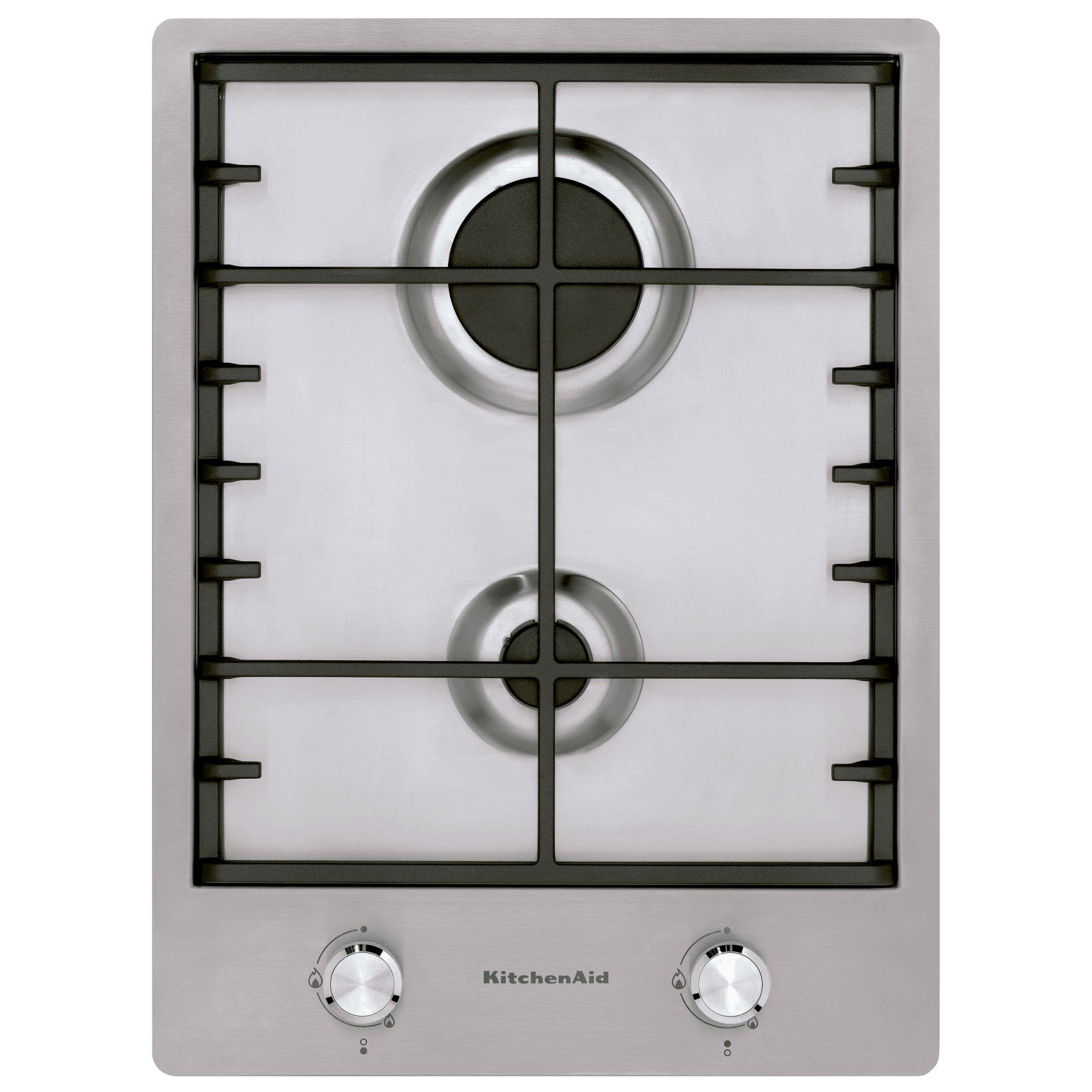 KitchenAid KitchenAid KHDD238510 Integrated Gas Hob, Stainless Steel