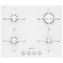 Buy Smeg PV164C Linea Aesthetic 60cm Integrated Gas Hob Online at johnlewis.com