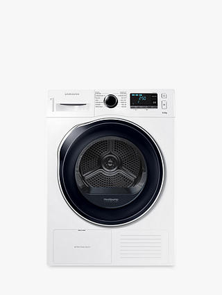 Buy Samsung DV90K6000CW/EU Heat Pump Tumble Dryer, 9kg Load, A++ Energy Rating, White Online at johnlewis.com