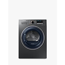 Buy Samsung DV80M50103X Heat Pump Tumble Dryer, 8kg Load, A++ Energy Rating, Graphite Online at johnlewis.com