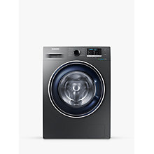 Buy Samsung WW70J5555FX/EU ecobubble™ Freestanding Washing Machine, 7kg Load, A+++ Energy Rating, 1400rpm Spin, Graphite Online at johnlewis.com