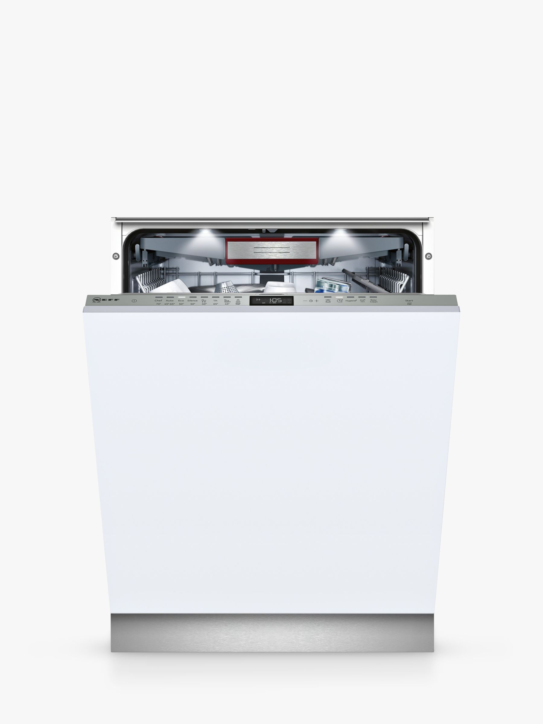 NEFF Neff S515T80D1G Integrated Dishwasher, White
