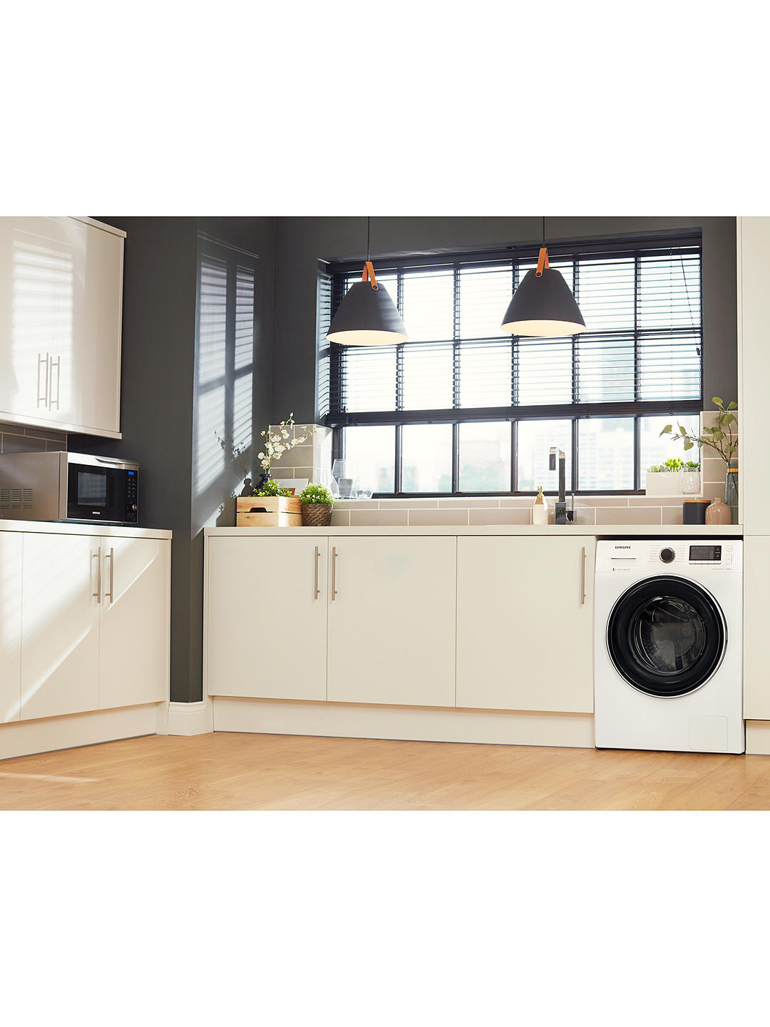 Buy Samsung WW90J5456FW ecobubble™ Freestanding Washing Machine, 9kg Load, A+++ Energy Rating, 1400rpm Spin, White Online at johnlewis.com