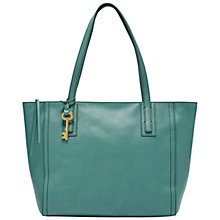 Buy Fossil Emma Leather Tote Bag Online at johnlewis.com