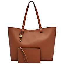 Buy Fossil Rachel Leather Tote Bag Online at johnlewis.com