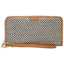 Buy Fossil Emma Large RFID Zip Clutch Purse Online at johnlewis.com
