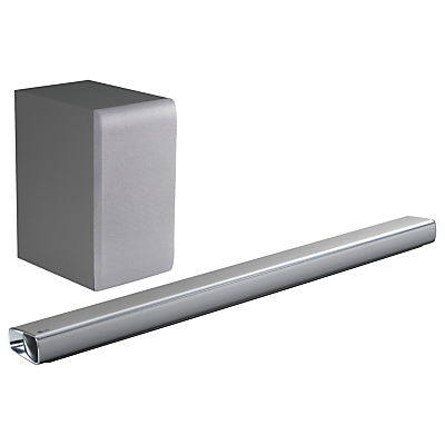 LG SJ5 Bluetooth Sound Bar with Wireless Subwoofer & High Resolution Audio, Silver