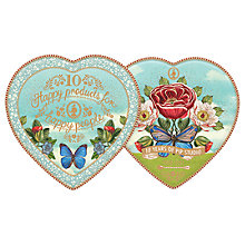 Buy PiP Studio 10th Birthday Heart Plates, Set of 2 Online at johnlewis.com