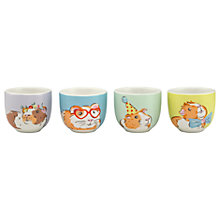 Buy Cath Kidston Pets Party Guinea Pigs Egg Cups, Set of 4 Online at johnlewis.com