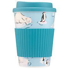 Buy Cath Kidston Polar Bears Travel Mug, 475ml Online at johnlewis.com