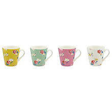 Buy Cath Kidston Hampstead Ditsy Mug, Assorted, 457ml, Set of 4 Online at johnlewis.com