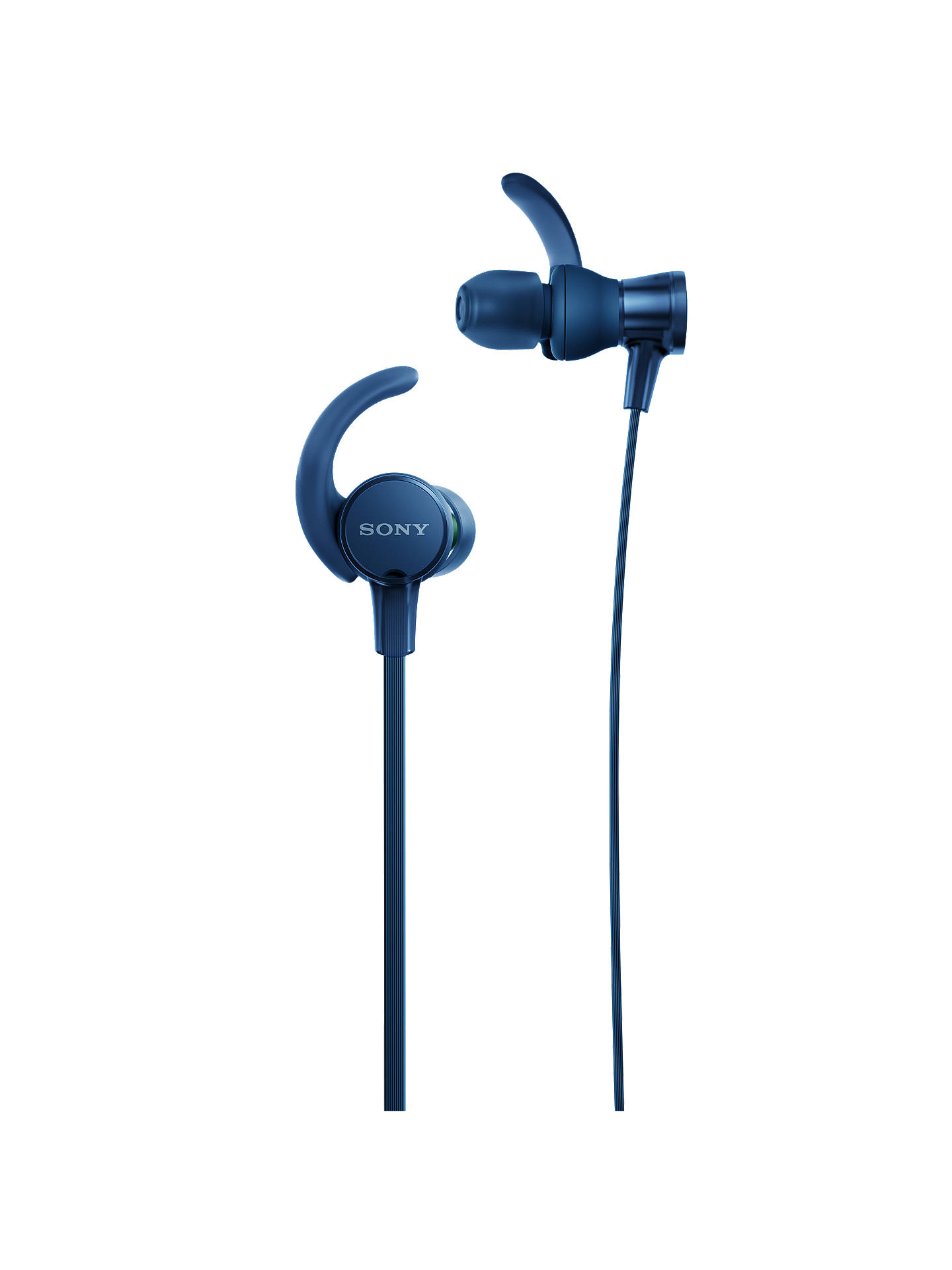 BuySony MDR-XB510AS Extra Bass Splash Resistant Sports In-Ear Headphones with Mic/ ...