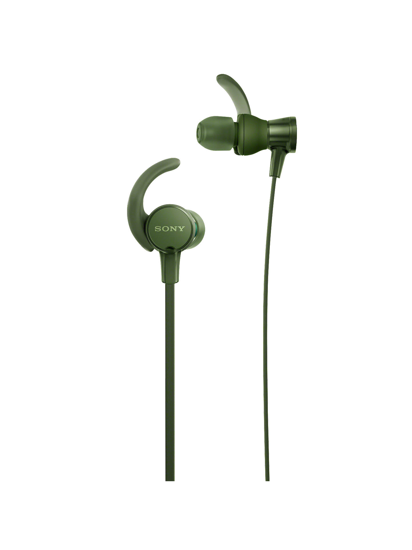 15c55f6ba1e Buy Sony MDR-XB510AS Extra Bass Splash Resistant Sports In-Ear Headphones  with Mic ...