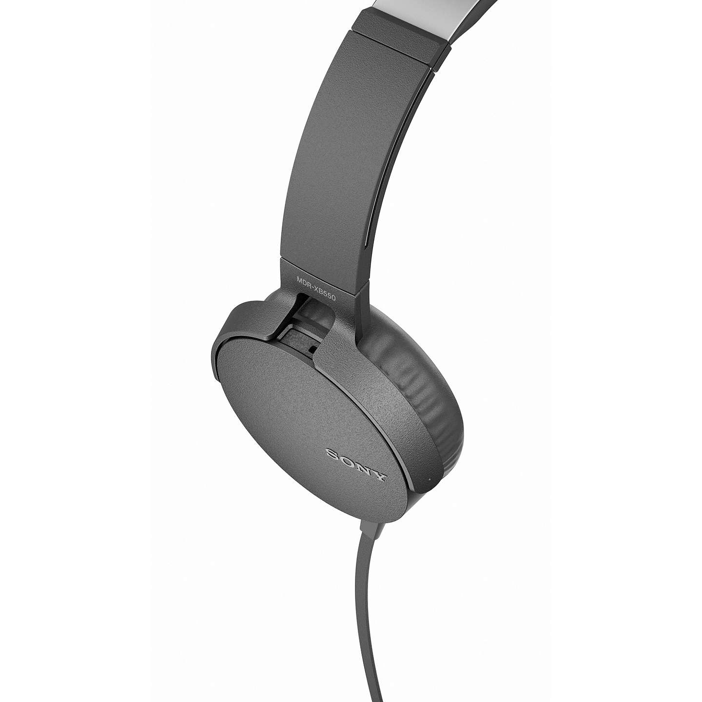 BuySony MDR-XB550AP Extra Bass On-Ear Headphones with Mic/Remote, Black Online at johnlewis.com