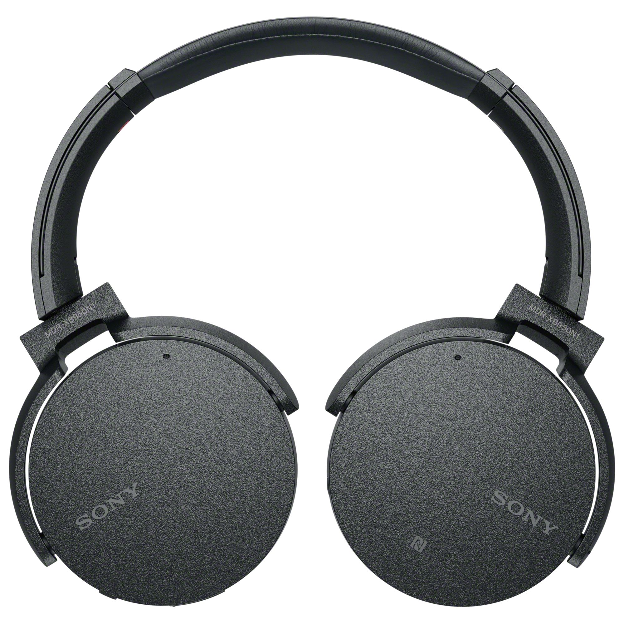 Sony Mdr Xb950n1 Noise Cancelling Extra Bass Bluetooth Nfc Over Ear Headset Magnet Sport Super Fitness Headphones At John Lewis Partners