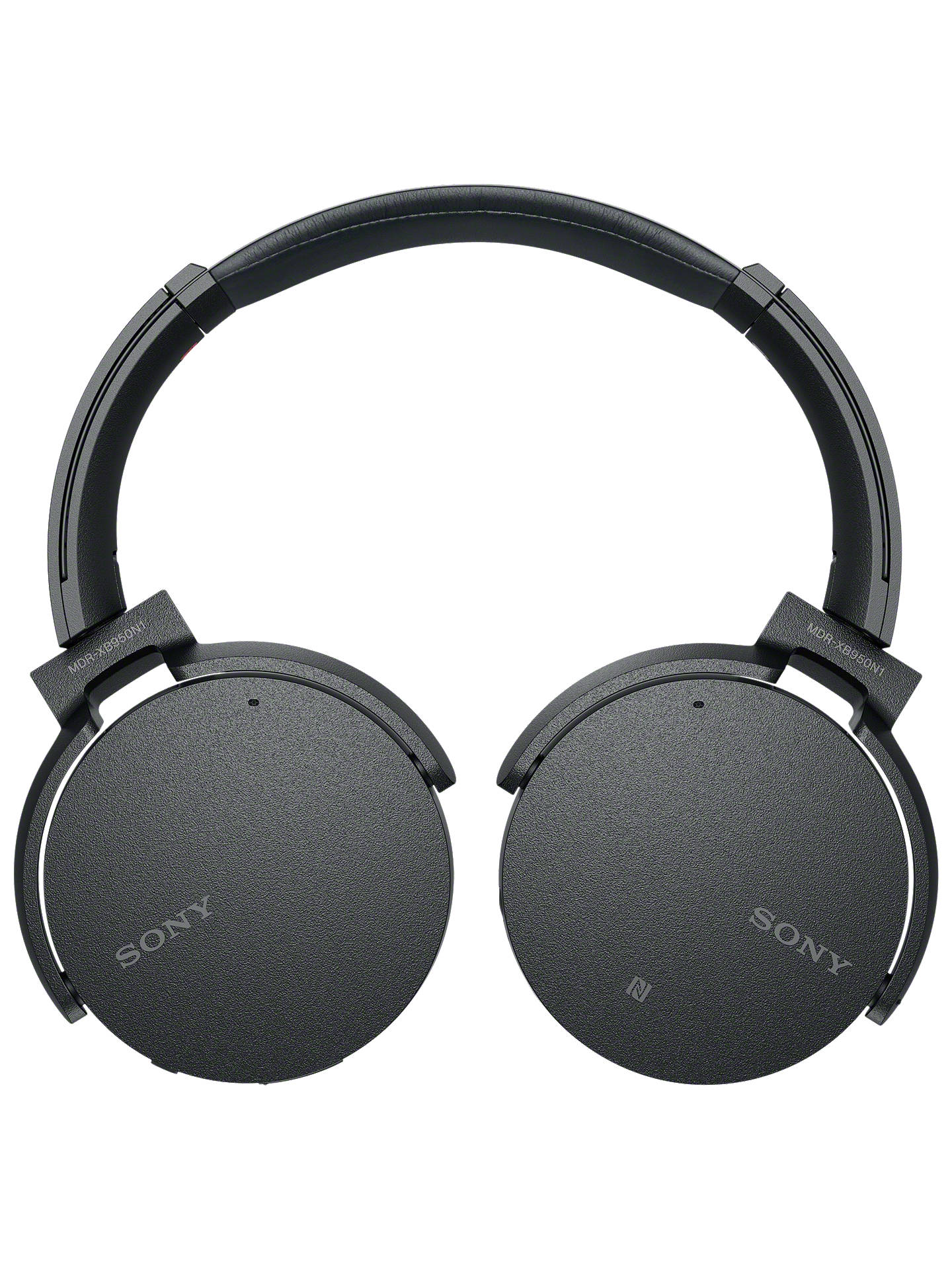 BuySony MDR-XB950N1 Noise Cancelling Extra Bass Bluetooth NFC Over-Ear Headphones, Black ...