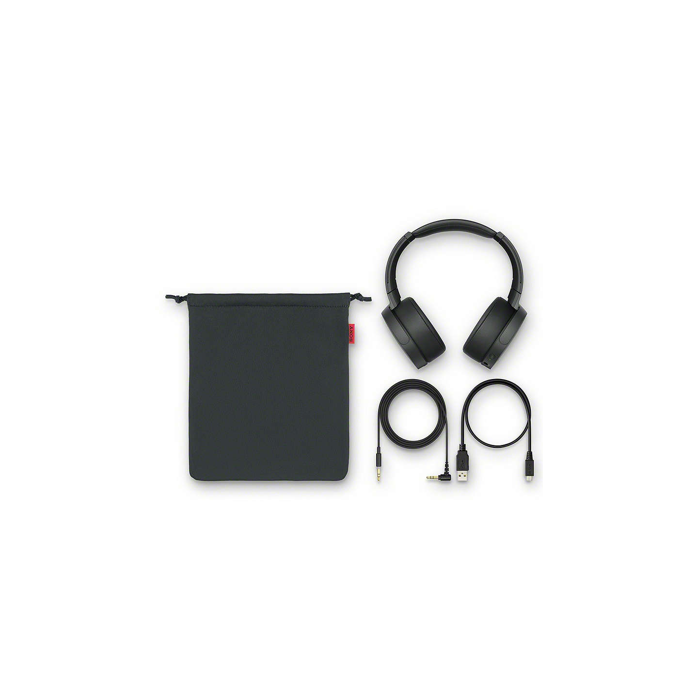 BuySony MDR-XB950N1 Noise Cancelling Extra Bass Bluetooth NFC Over-Ear Headphones, Black Online at johnlewis.com