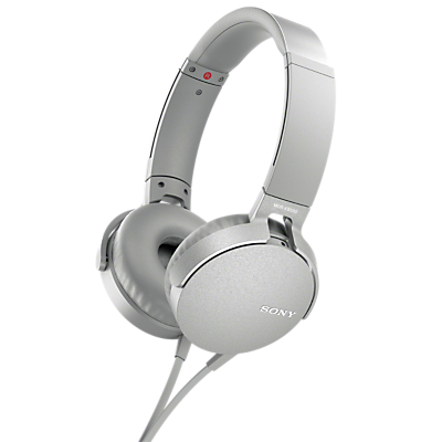 Image of Sony MDR-XB550AP Extra Bass On-Ear Headphones with Mic/Remote