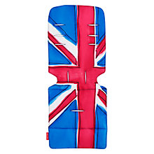 Buy Maclaren Pushchair Union Jack Theme Seat Liner Online at johnlewis.com