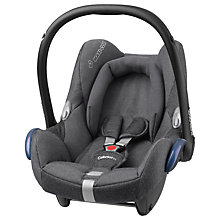 Buy Maxi-Cosi CabrioFix Group 0+ Baby Car Seat, Grey Sparkling Online at johnlewis.com