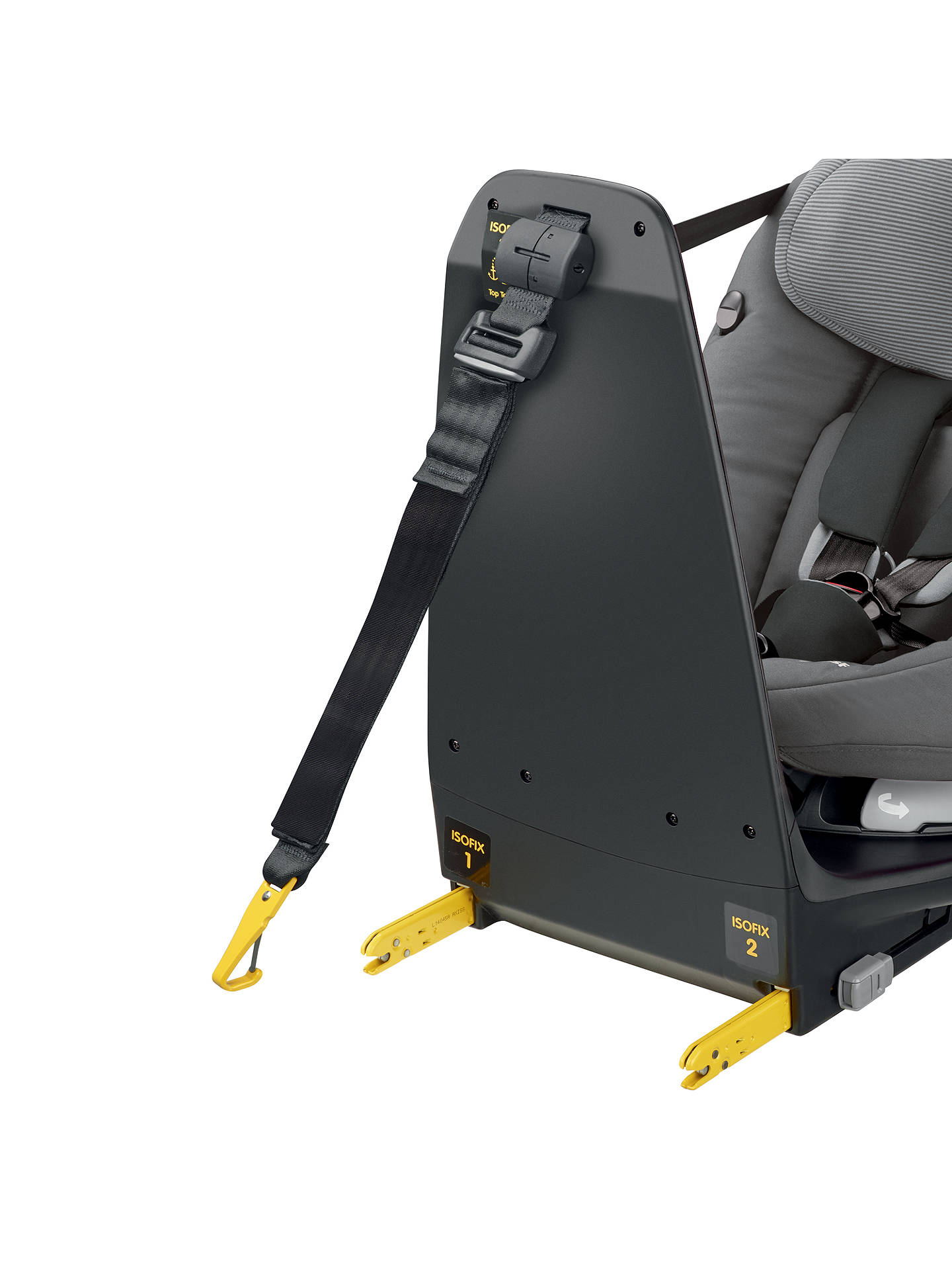 BuyMaxi-Cosi AxissFix Plus Group 0+ and 1 Car Seat, Concrete Grey Online at johnlewis.com